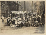 Western Union employees at their annual picnic, July 30, 1920
