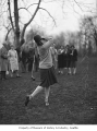 Mrs. J.C. Kilborne golfing at Seattle Golf Club, The Highlands, 1930