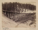 Northern Pacific switchback bridge #4, ca. 1888