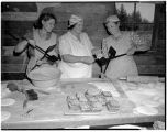 Women making waffles at Pearson's Bakery, December 1943