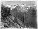 Great Northern Railway switchback, ca. 1892