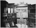 Gold bricks in assay office, ca. 1898