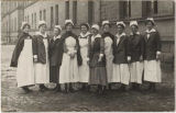 Army nurses of Base Hospital 47, ca. 1918