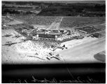 Aerial view of Sea-Tac Airport on opening day, July 9, 1949