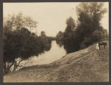 River scene near Georgetown, Washington, ca. 1914