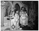 Clergy at St. Demetrios, August 1940