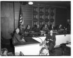 Louis Budenz testifying before the Canwell Committee, January 27, 1948