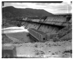 West side of Grand Coulee Dam showing powerhouse, March 1941