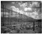Power lines from Grand Coulee Dam, July  1942