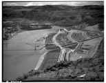 Engineers Town near site of Grand Coulee dam, ca. 1937
