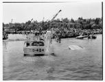 Hydroplanes on Lake Washington, Seattle, 1958