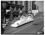 Fisher Flouring Mills float in the 1939 Potlatch parade, July 1939