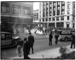 Tear gas in Tacoma during the 1935 mill strike, June 24, 1935