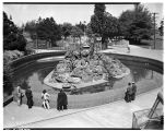 Monkey Island at Woodland Park Zoo, May 13, 1946