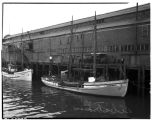 "Fishing schooner ""Albatross"" at Seattle wharf,  March 1936"