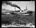 "Tugboat ""Wedell Foss"" in race,  May 25, 1954"
