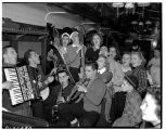 Party on ski train to Snoqualmie Pass, January 28, 1939