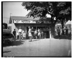 Concession stand at Woodland Park, August 28, 1938