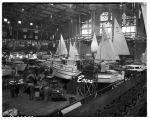 Boat show exhibits, February 1948