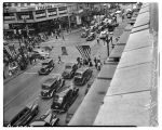 Intersection of Fourth Avenue and Pike Street,  August 1941
