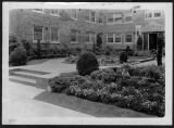 Landscaping at Garden Court building, ca. 1929
