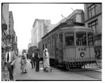 Wallingford streetcar on Fourth Avenue, September 1934