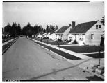 Residential street in Wedgwood, September 8, 1949