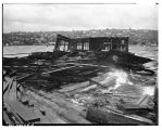 Storm damage at Lake Union, October 21, 1945