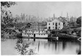 "Sternwheeler ""Nellie"" at Snohomish, Washington, ca. 1876"
