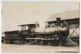 "Seattle, Lake Shore & Eastern Railroad locomotive ""D.H. Gilman,"" ca. 1887"