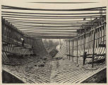 Ship under construction at Port Blakely, ca. 1904