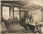 Office area and laboratory in U.S. Assay Office, ca. 1903