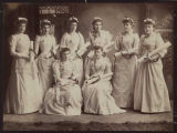 Holy Names Academy graduating class, 1891