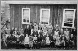 Students and teachers at Maple Valley School, ca. 1891