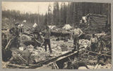 Gold miners at Spruce Creek, ca. 1898