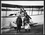 "Boeing ""C"" seaplane with air mail, March 1919"