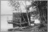 Houseboat on Lake Washington : near University of Washington , ca. 1908