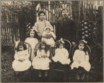 John and Mary Louise DeLeo and family, 1915