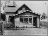 Post office and general store at Rolling Bay, ca. 1902