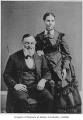 William Bell and his second wife Lucy, Seattle, ca. 1880