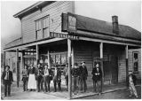 Eagle Saloon, Renton, Washington, ca. 1900
