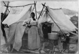 Laundry woman during gold rush, ca. 1902