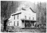 Bush House, lodging house in Index, ca. 1900