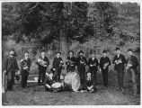 Band at Port Blakely, ca. 1900