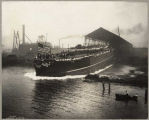 U.S.S. Nebraska launching, October 7, 1904