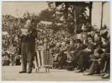 President Taft addressing the crowd, September 28, 1909