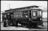 Trolley car No. 535 for Alki Point and Luna Park, ca. 1910