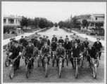 Seattle motorcycle club, ca. 1914