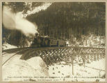 First passenger train to summit of White Pass, February 20, 1899
