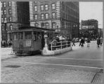 The last day of the Yesler cable car run, August 9, 1940